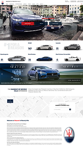 Maserati Beverly Hills