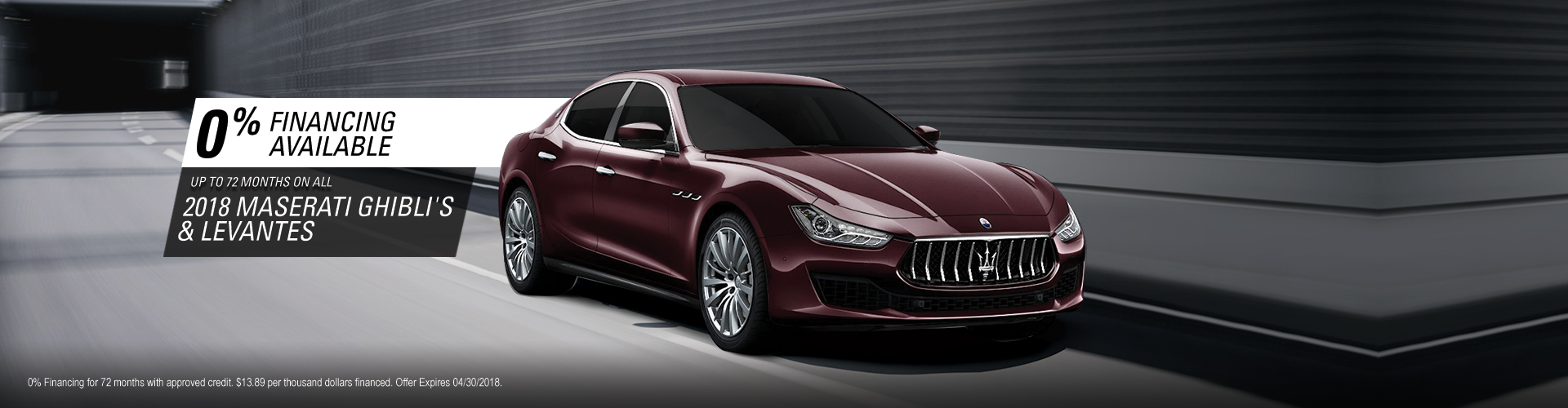 Specials Email | Maserati of Van Nuys