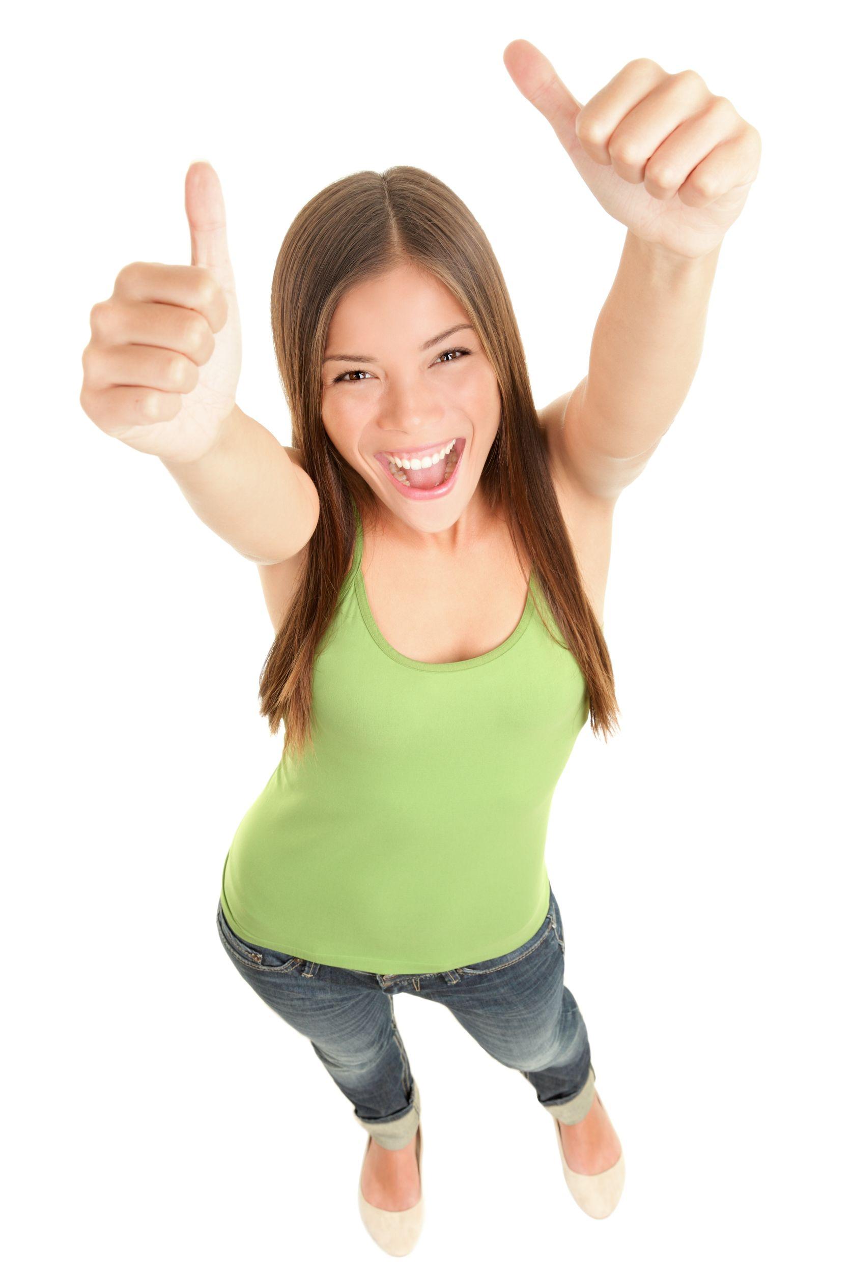 Happy Financing Customer
