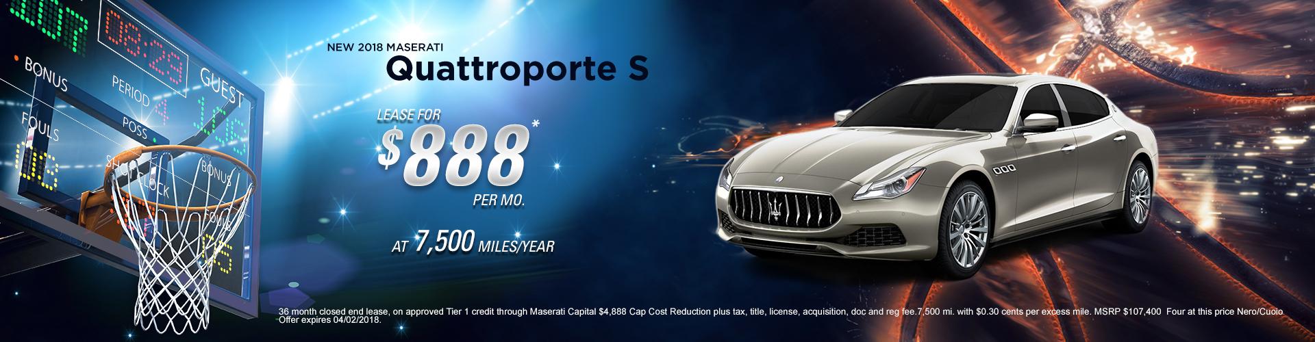 2018 Quattroporte