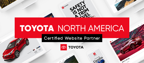 Toyota Certified Website Partner
